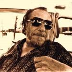 Charles Bukowski in Car